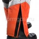 """Костюм """"Новый Эверест"""" утепленный с полукомбинезоном, оранжевый + хаки заказать в интернет магазине"""