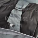 """Костюм """"Ангара"""" утепленный с брюками, серый + черный"""