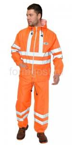 "Куртка ""Extra Vision WPL"" (ПВХ), оранж. фл."