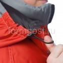 """Купить в Москве Костюм """"Меридиан"""" утепленный, с полукомбинезоном, серый + красный"""