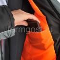 "Куртка ""Ангара"" утепл., сер. + черн. купить оптом"