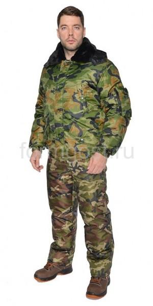 "Куртка ""Вираж"" утепл., камуфл. нато"