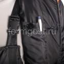"""Куртка """"Зима 2"""" утепл., черн. + оранж. от производителя"""