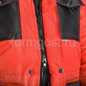 "Спецодежда - Куртка ""Профи Плюс"" утепл., красн. + черн."