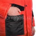 "Куртка ""Профи Плюс"" утепл., красн. + черн. купить оптом"