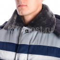 "Куртка ""Труд М"" утепл., син. + сер. от производителя"