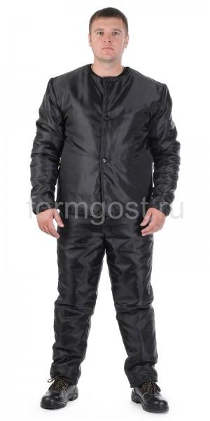Подстежка - куртка, утепл., черн.