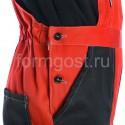 """Рабочая одежда - Костюм """"Эксперт Люкс"""" с п/к, красн.+черн."""