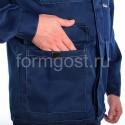 """Спецодежда - Куртка """"Эксперт Люкс"""" син. + желт. фл."""
