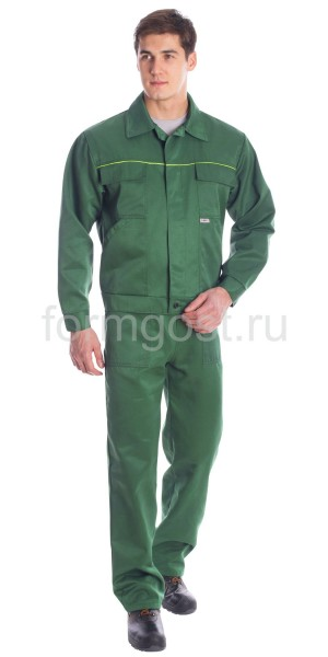 """Костюм """"Полет"""" с п/к, зел."""