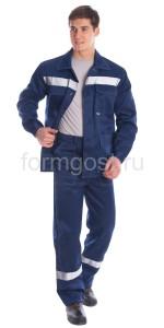 "Куртка ""Эксперт Люкс"" син. + син."