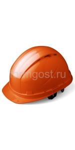 "Каска ""RFI-3 BIOT RAPID"" защитная с храп. механизмом, оранж."