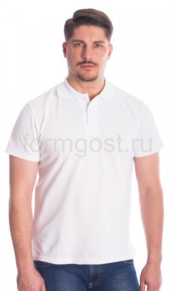 Рубашка-поло, белый