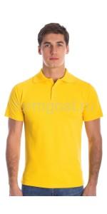 Рубашка-поло, желтый