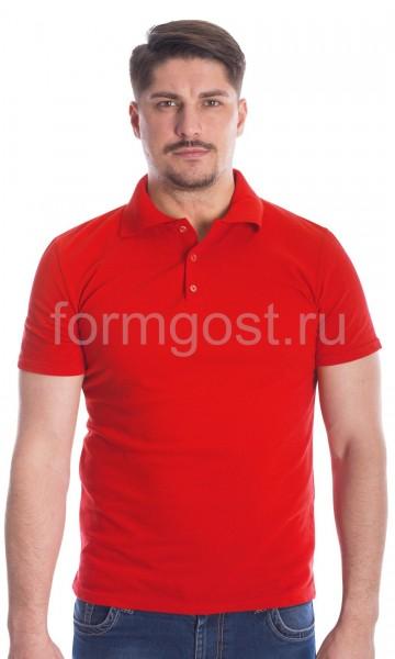 Рубашка-поло, красный
