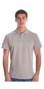 Рубашка-поло, серый