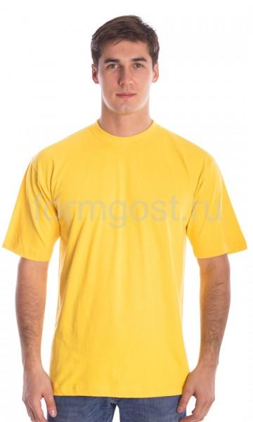 Футболка х/б, желтый
