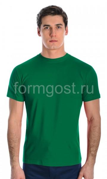 Футболка х/б, зелёный