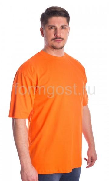 Футболка х/б, оранжевый