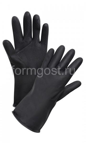 Перчатки технические КЩС-1 (уп. 10)