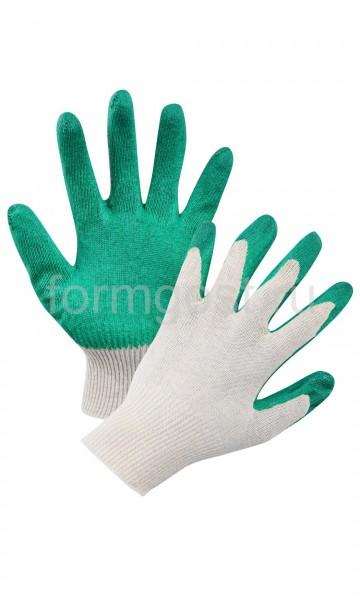 Перчатки трик. с латекс. покрытием (уп. 10)