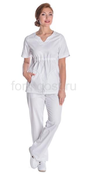 "Блуза ""Милана"" мед. жен., бел."