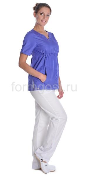 """Блуза """"Милана"""" мед. жен., фиолет."""