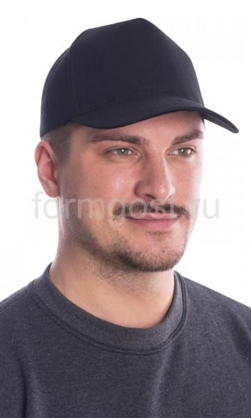 Бейсболка черная