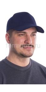 Бейсболка синяя