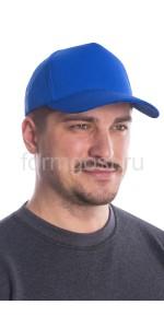 Бейсболка васильковая