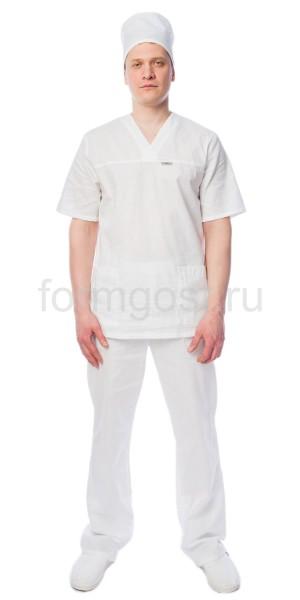 Костюм пекаря/повара (тк. бязь), бел.