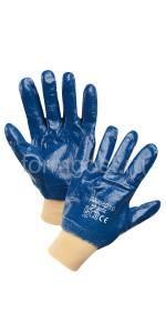 Перчатки х/б с нитриловым покрытием (манжет)
