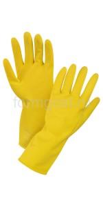 Перчатки хоз. латексные (уп. 12)
