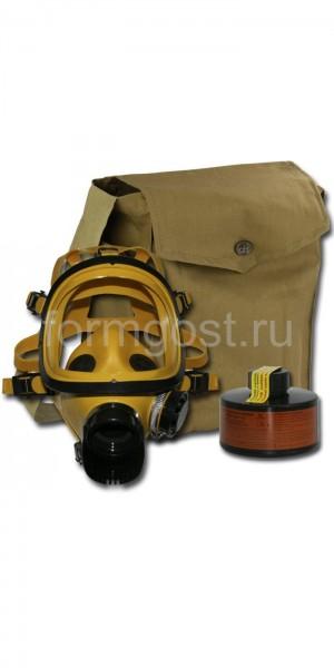 Противогаз промышленный БРИЗ-3301 (ППФ) А1 с ППМ 88