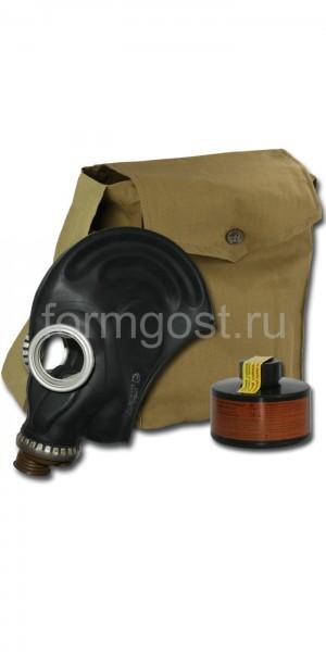 Противогаз промышленный БРИЗ-3301 (ППФ) А1 с ШМП