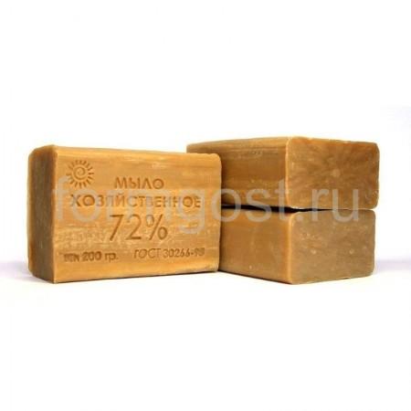 Мыло хозяйственное 72% 200 гр.