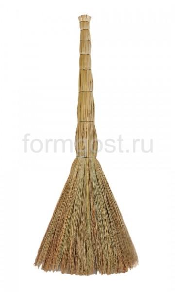 Веник сорго первый сорт, плотн. вязание