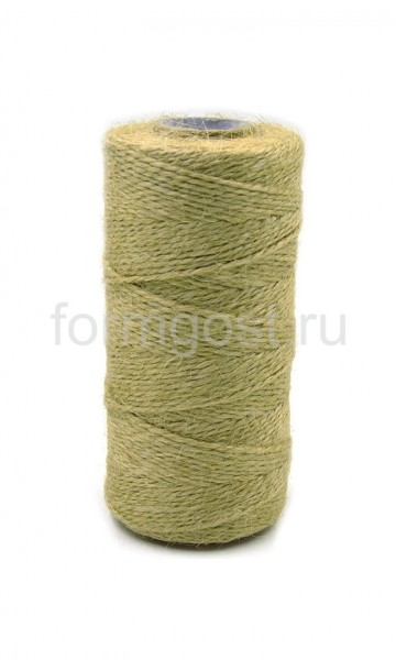Шпагат 1,25 ктекс л/пеньковый (бобина 1,45 кг)