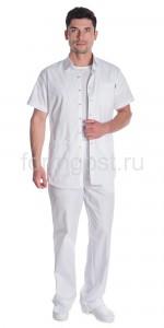 "Блуза ""Элит-спорт"" мед. муж., бел."