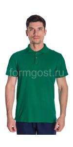Рубашка-поло, зеленый
