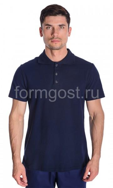 Рубашка-поло, синий