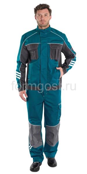 "Куртка ""Спец Люкс"", мор. вол. + т. сер."