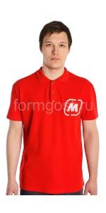 "Рубашка-поло, красн. ""Магнит"""