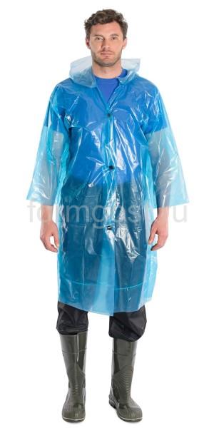 Плащ-дождевик полиэтиленовый