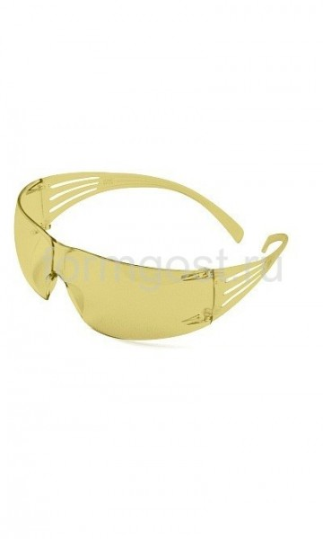 Очки 3M «Секьюрофит» (SF201AF-EU) желтый