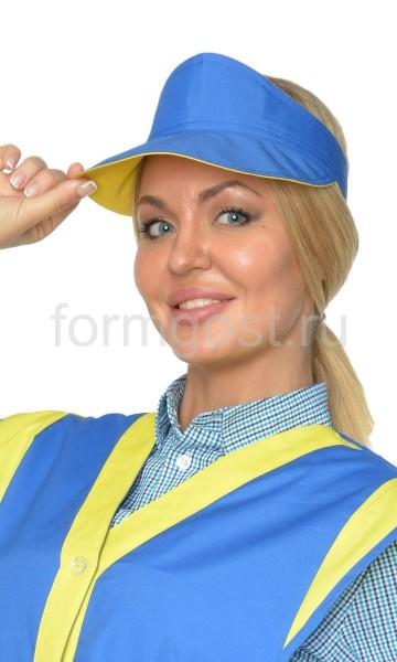 """Козырек """"Солнышко"""" вас.+желт."""