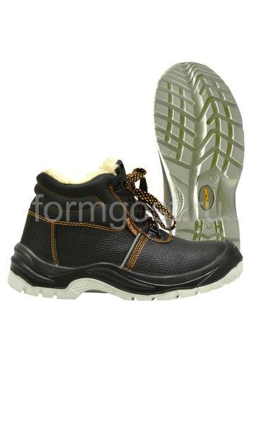 """Ботинки """"Профи-Мистраль"""" с мет. подн., мет. стел., иск. мех."""