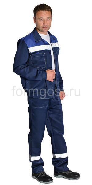 """Куртка """"Эксперт Люкс"""" син. + вас. ук."""