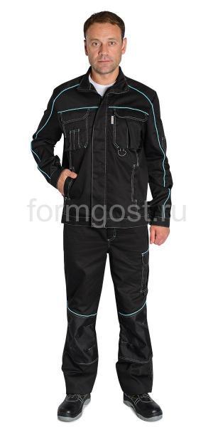"Куртка ""Спец Люкс"", черн."
